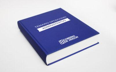 TEMARIO DE LAS OPOSICIONES DE ADMINISTRATIVO DE LA DGA